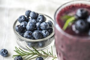 Healthy Blueberry Smoothie for Weight Loss