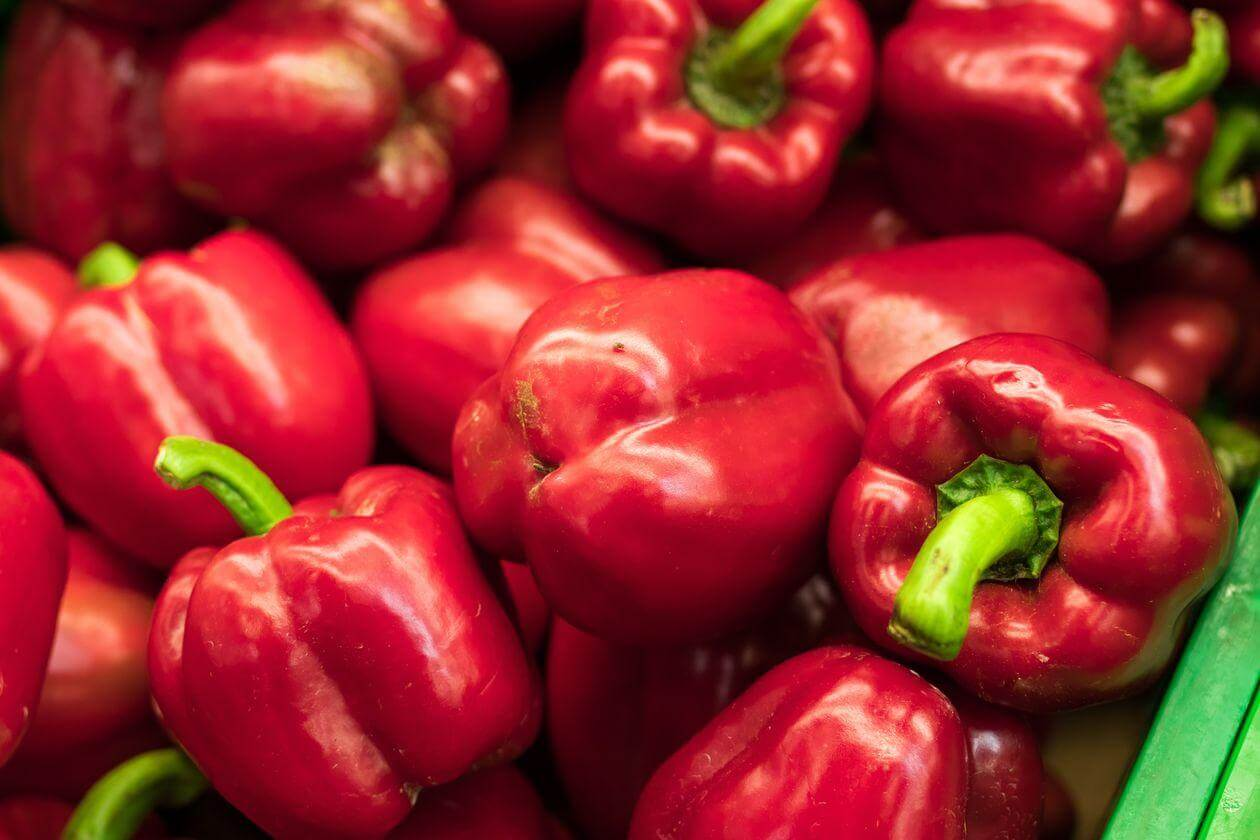 Red Bell Peppers Best Vegetables to Juice