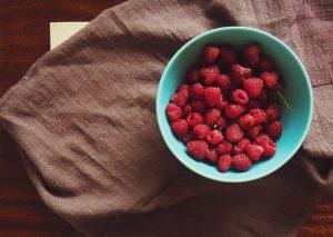Raspberries Give You Energy