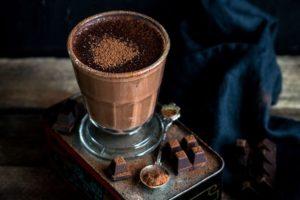 Cocoa Almond Smoothie