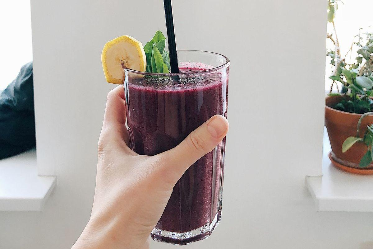 Purple Liver Detoxifying Smoothie