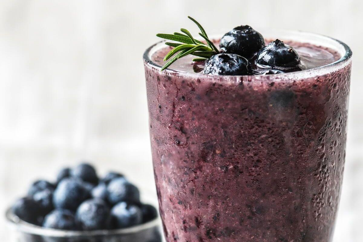 Blueberry Banana Ninja Smoothie