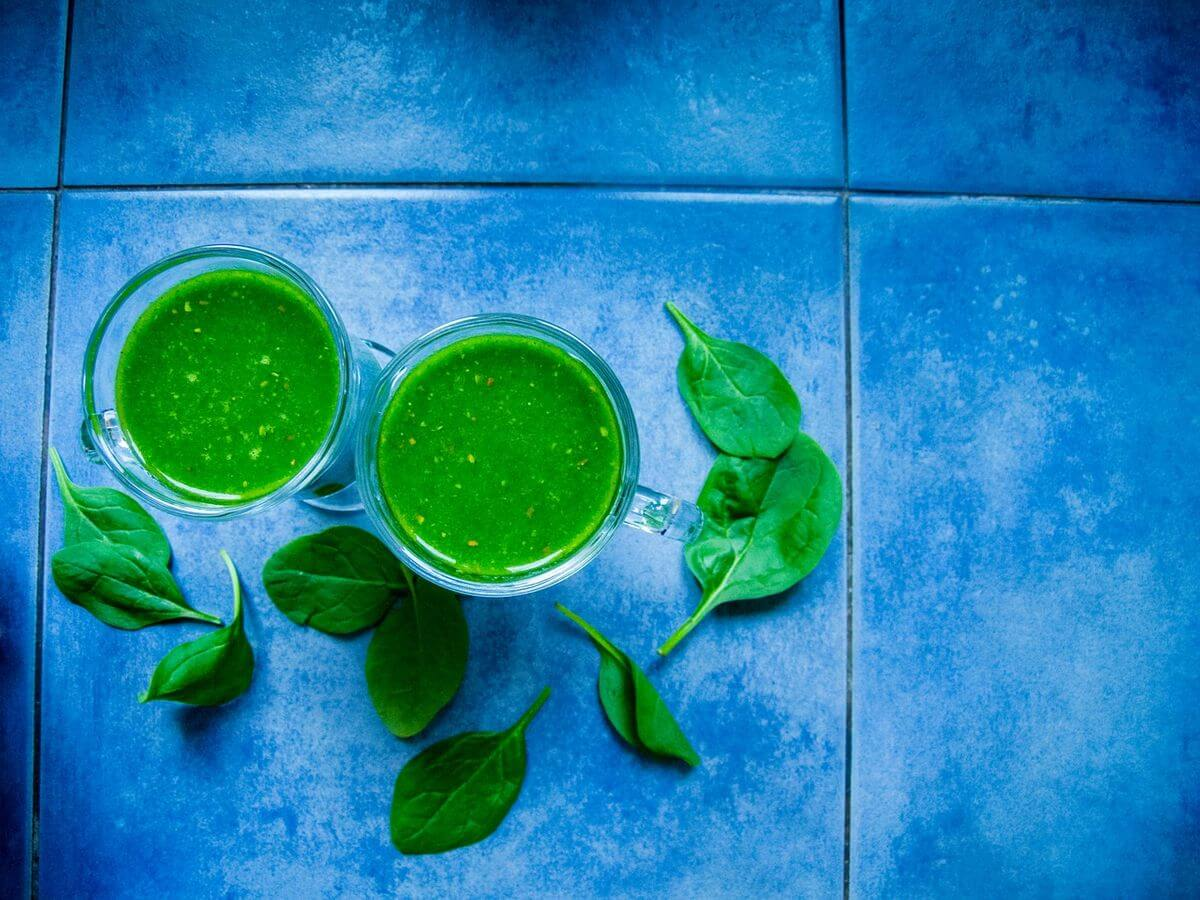 Spinach Kale Ninja Smoothie