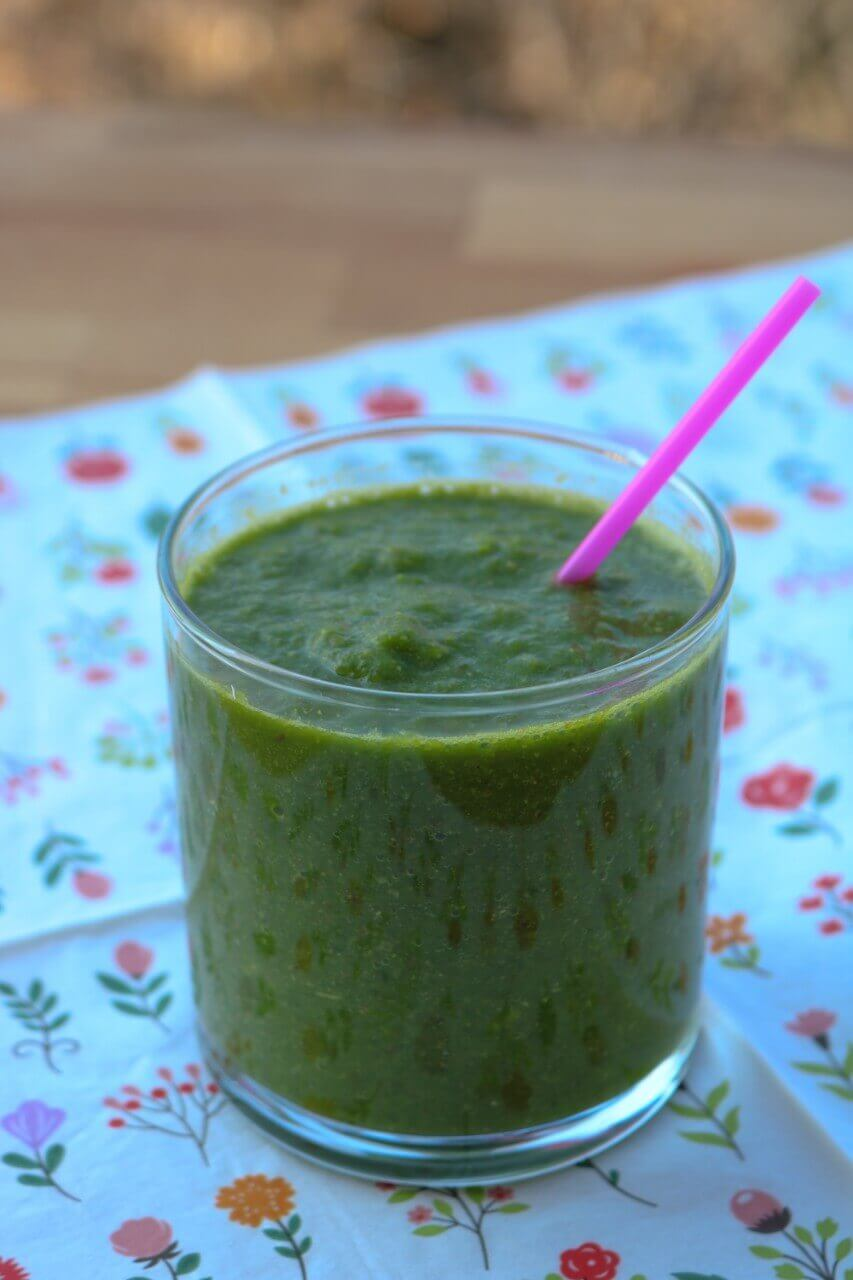 Green Smoothie for Constipation