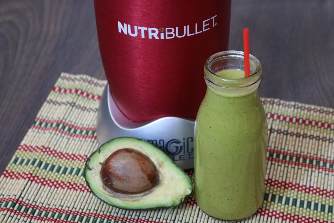 Avocado Nutribullet Detox Smoothie