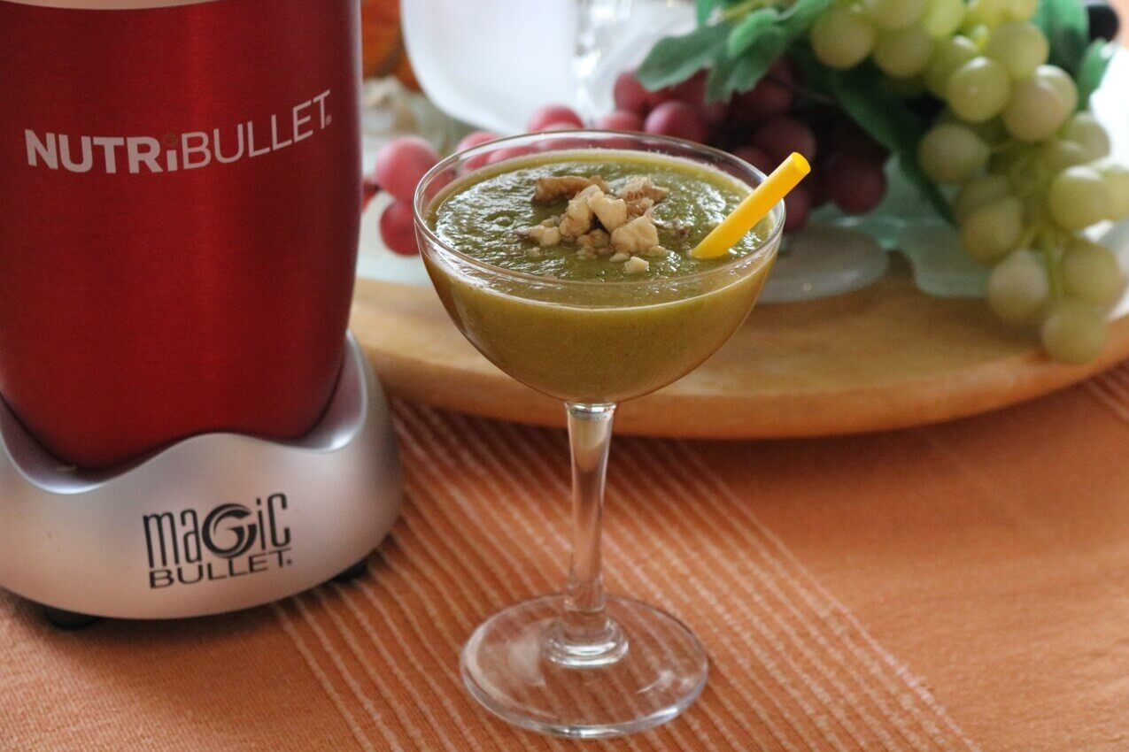 Cucumber Nutribullet Detox Recipe