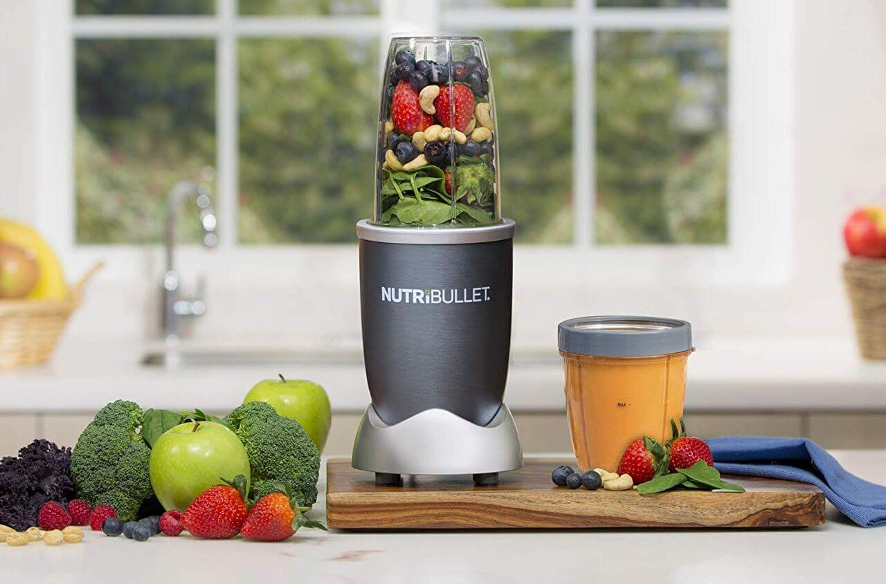 Nutribullet on a Table