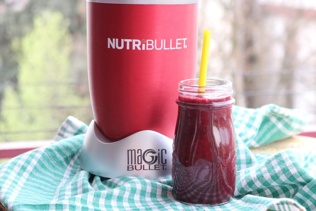 Purple Nutribullet Detox Smoothie