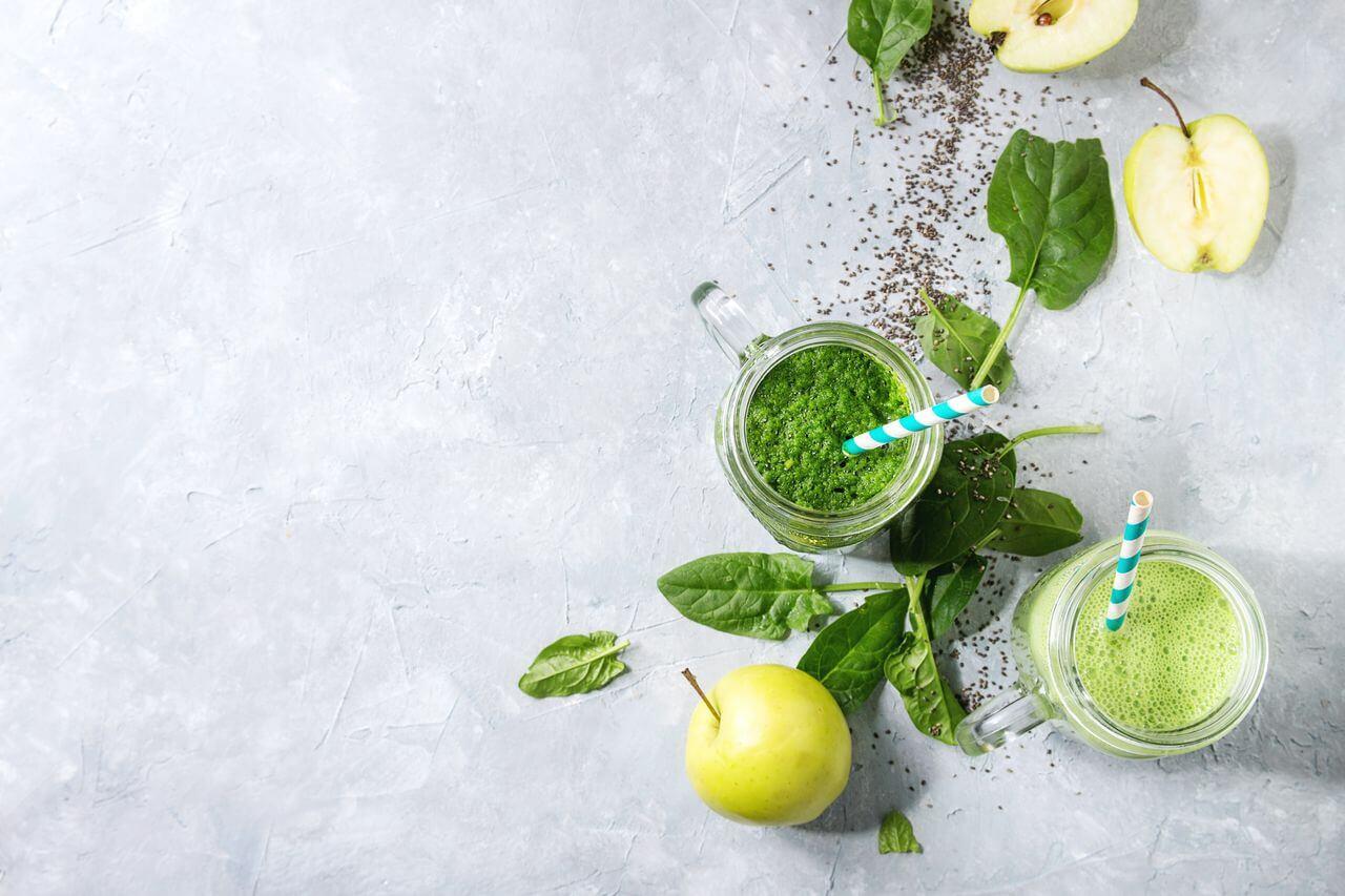 Apple Alkaline Green Smoothie