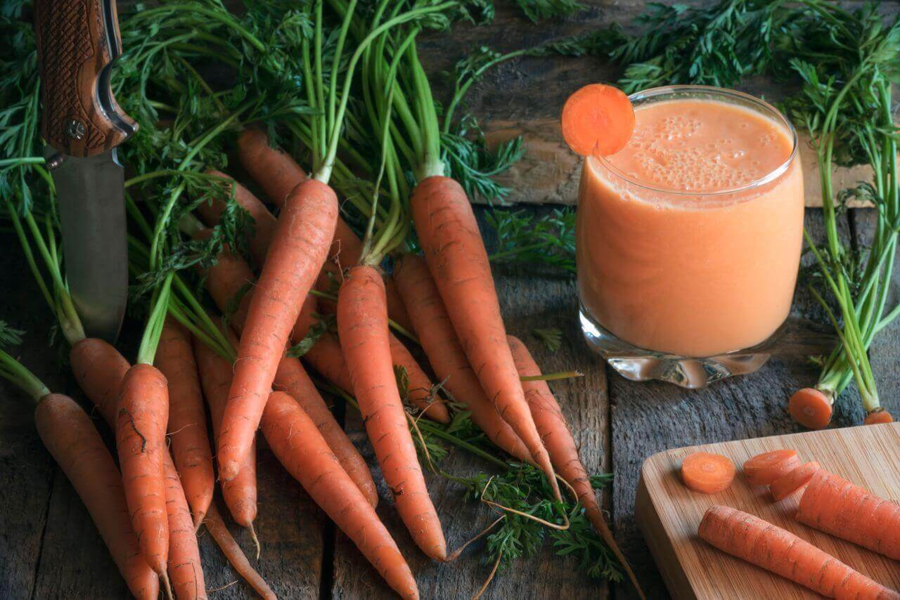 Banana Carrot Smoothie