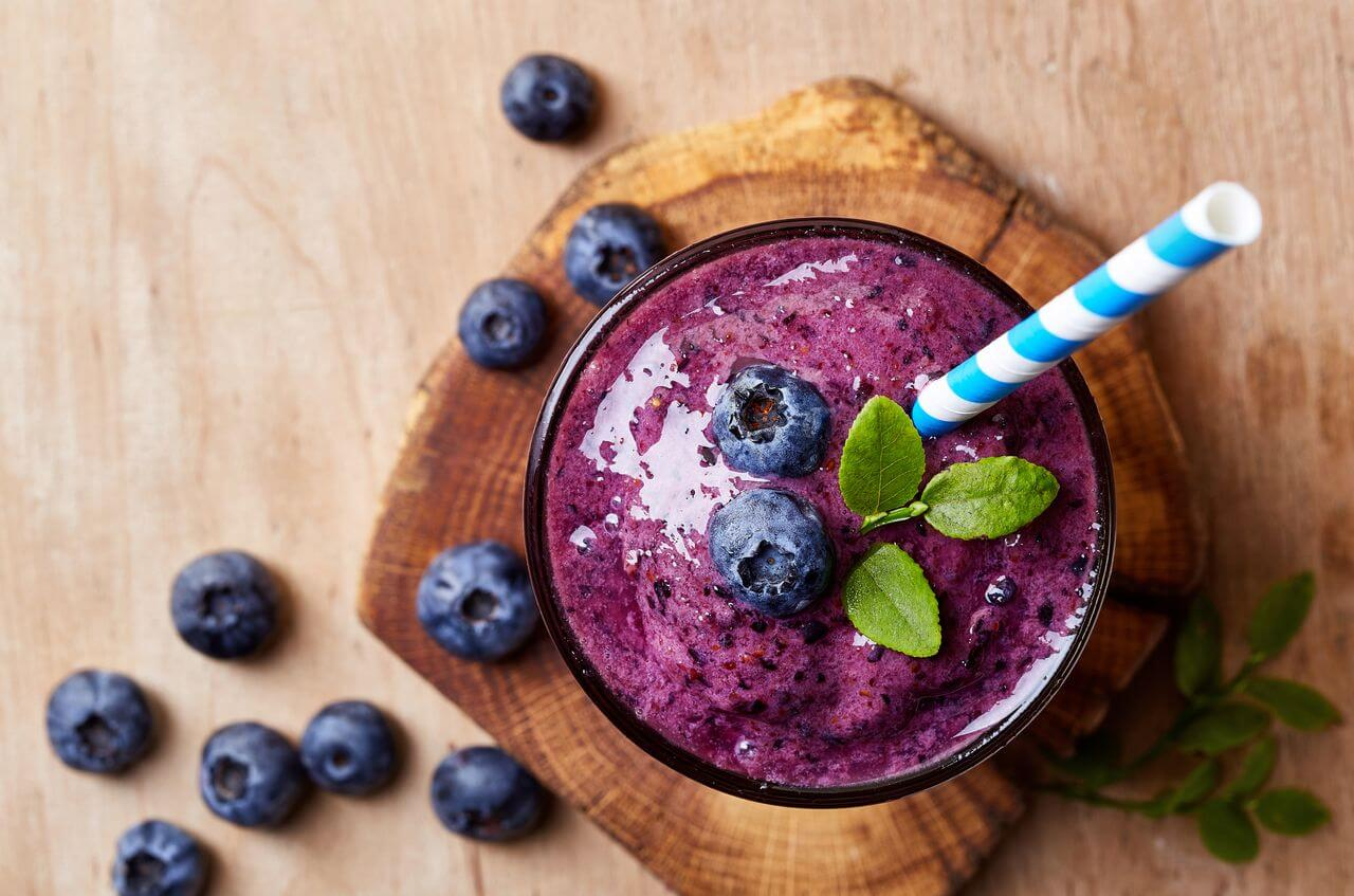 Blueberry Alkaline Smoothie