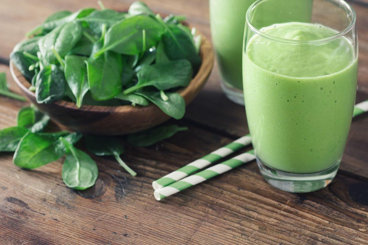 Spinach Alkalizing Smoothie Recipe