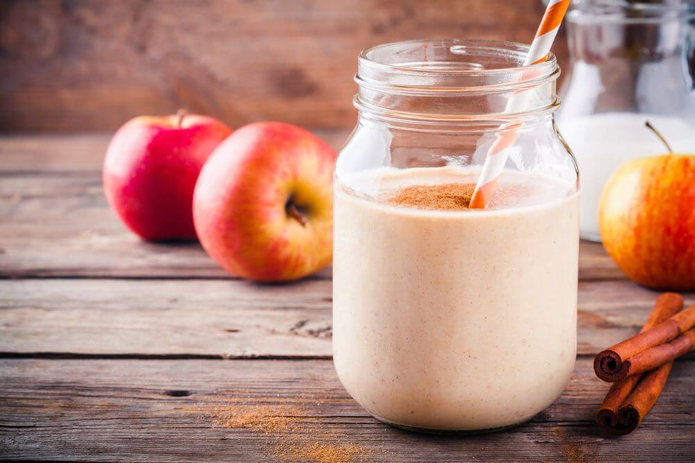 Apple Cinnamon Nutribullet Smoothie