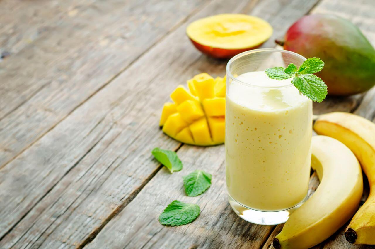 Banana Mango Moringa Smoothie