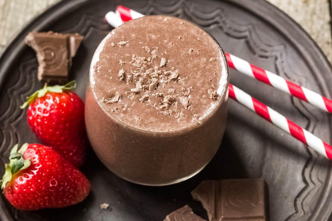 Chocolate Moringa Smoothie