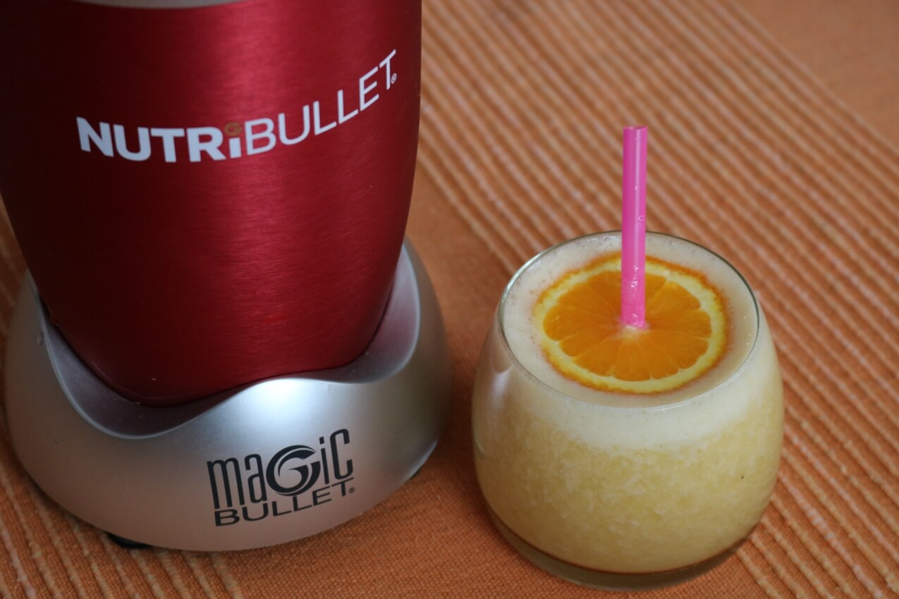Ginger Orange Nutribullet Smoothie