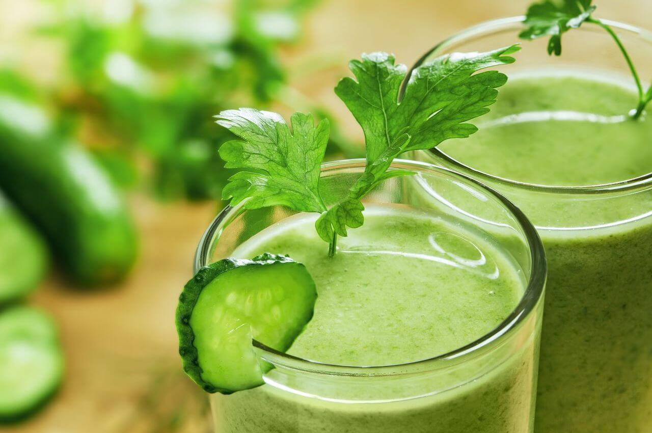 Green Smoothie for Migraine Relief