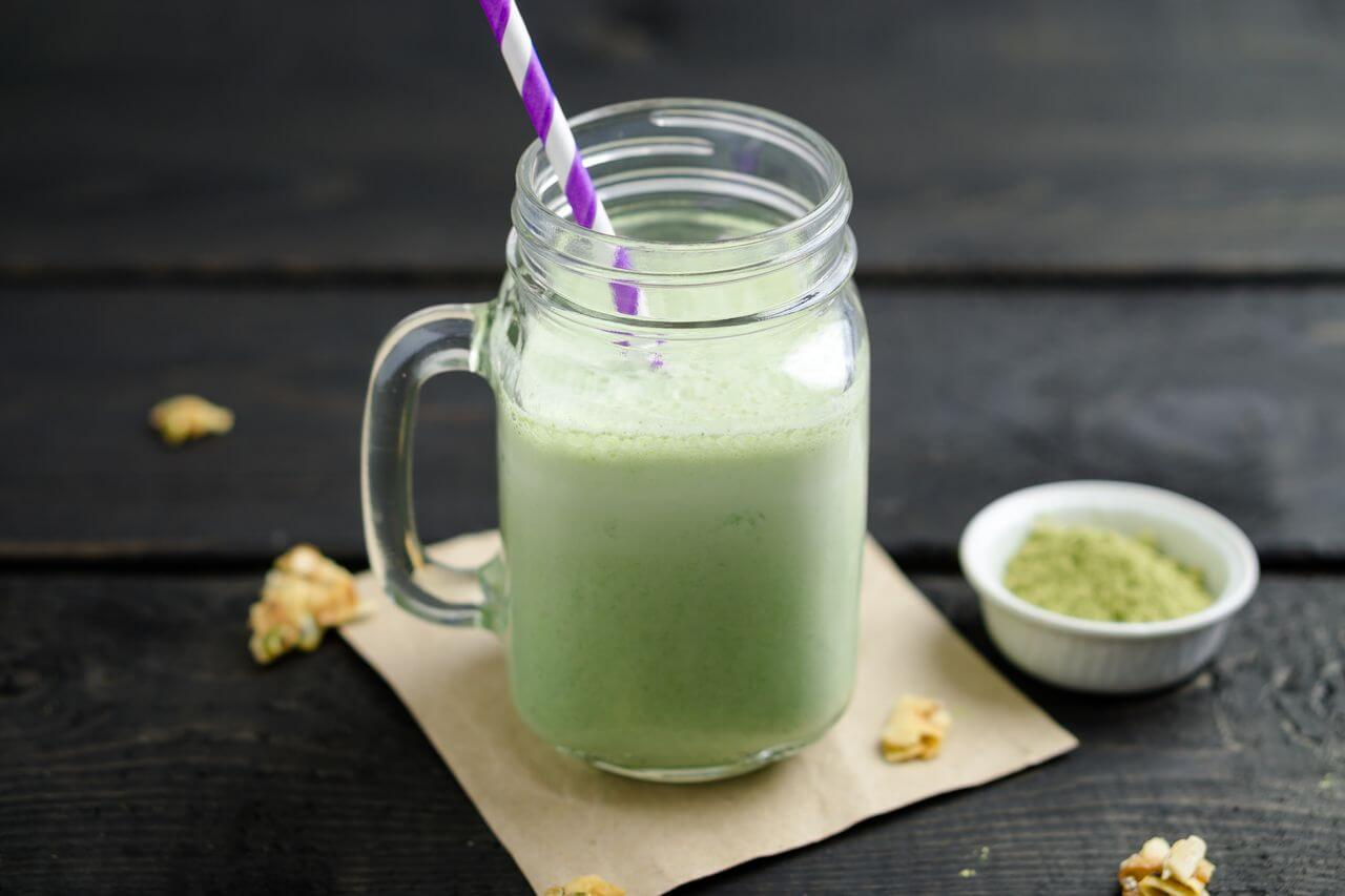 Matcha Latte Nutribullet