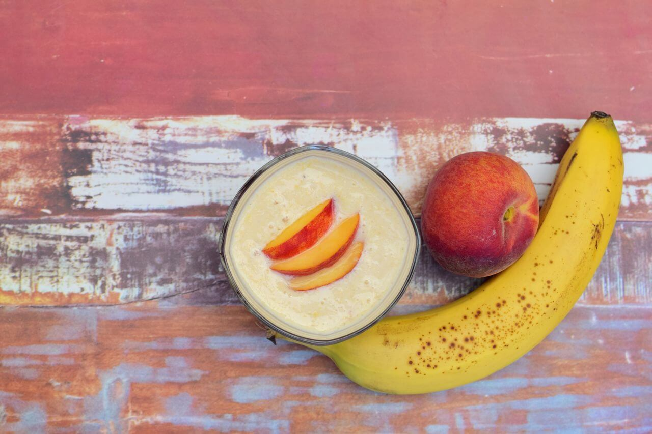 Peach Moringa Smoothie