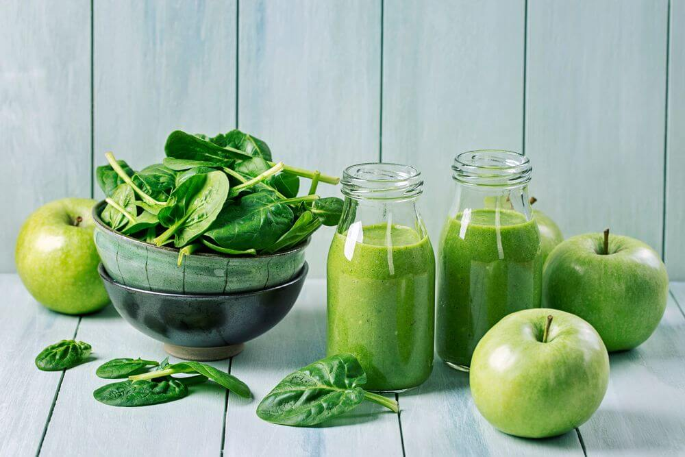 Spinach Green Ninja Smoothie
