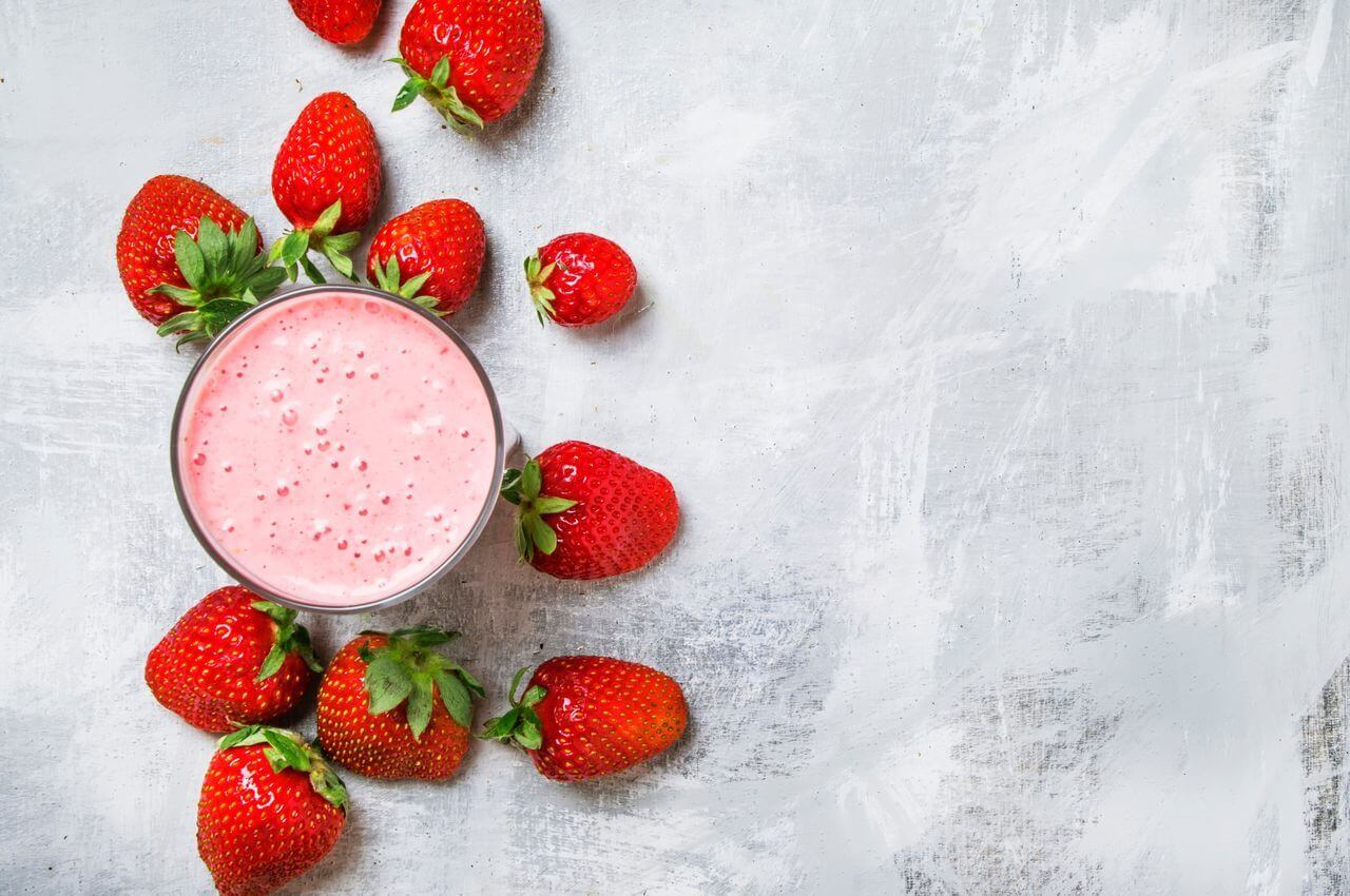 Strawberry Banana Nutribullet Smoothie