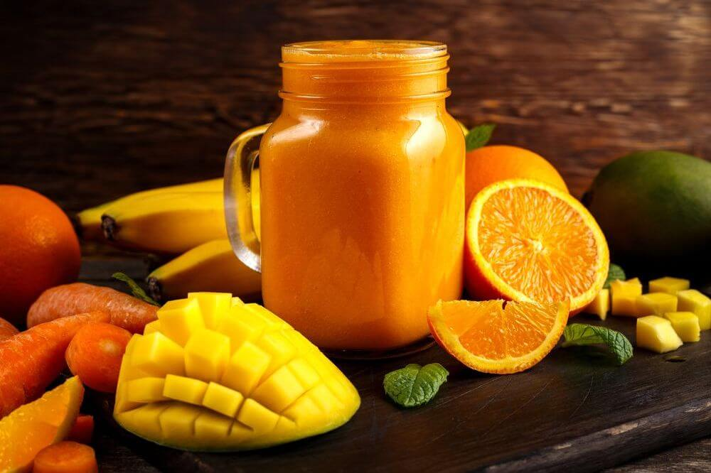 Tropical Ninja Weight Loss Smoothie