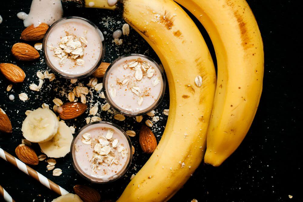 Banana Oat Smoothie to Lower Blood Pressure