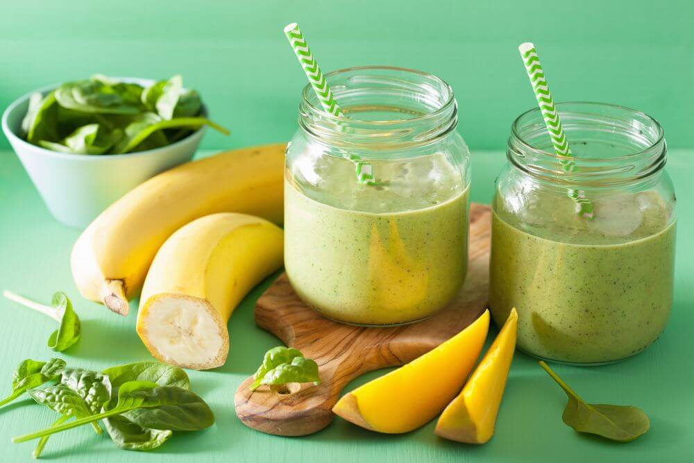 Banana Spinach Smoothie for Nutribullet
