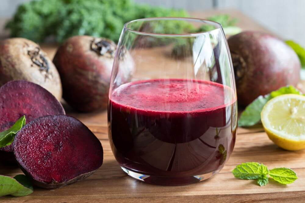 Beet Juice Recipe with Lemon