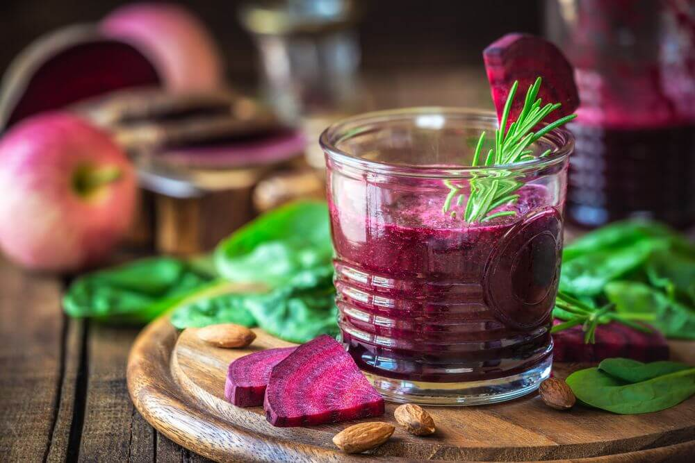 Beet Smoothie to Lower Blood Pressure