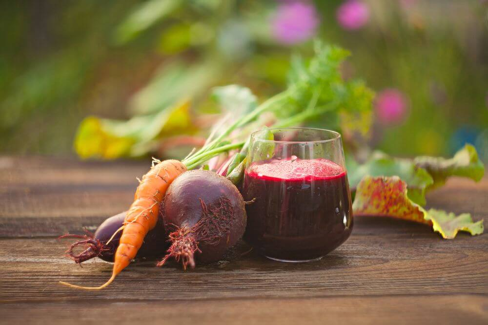 Beetroot Juice with Carrots