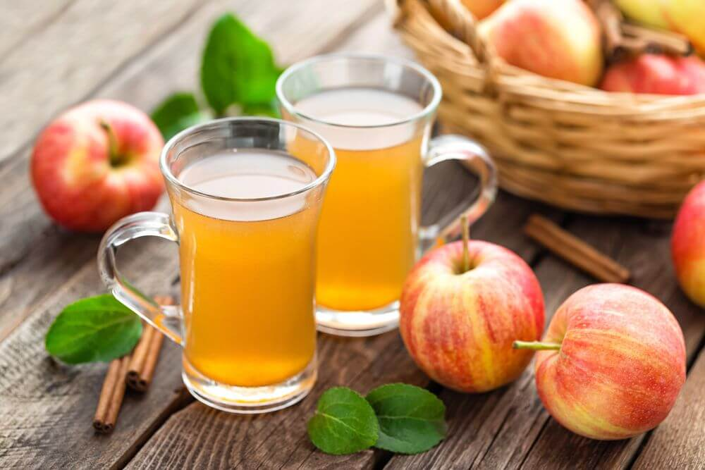 Apple Cider Best Substitute for Orange Juice