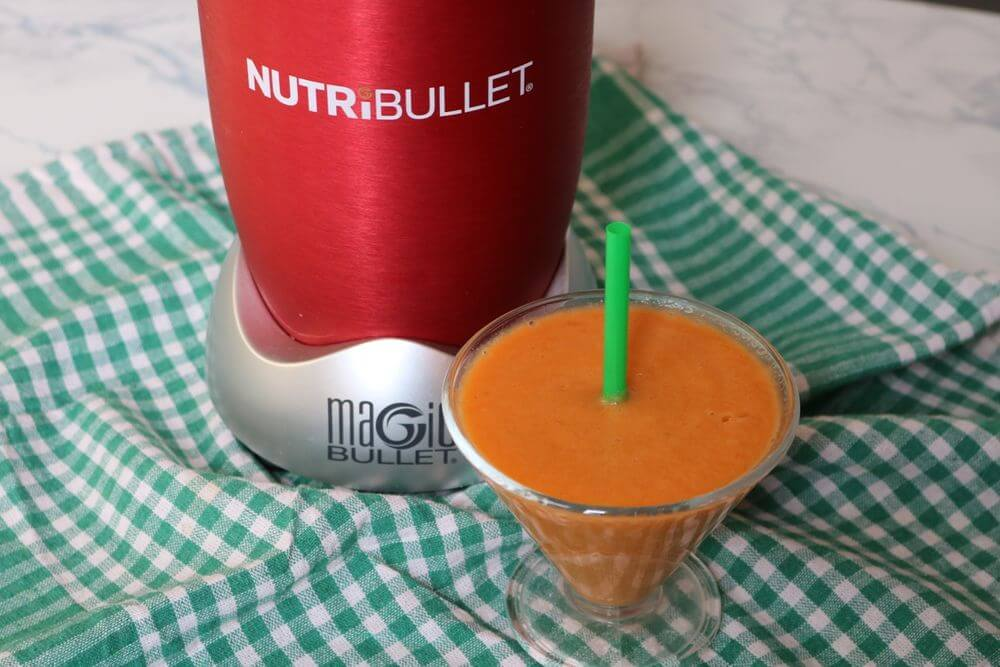 Carrot Nutribullet Smoothie