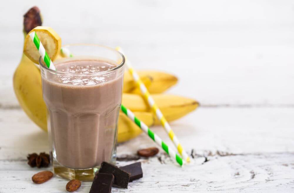 Chocolate Smoothie for Blood Pressure