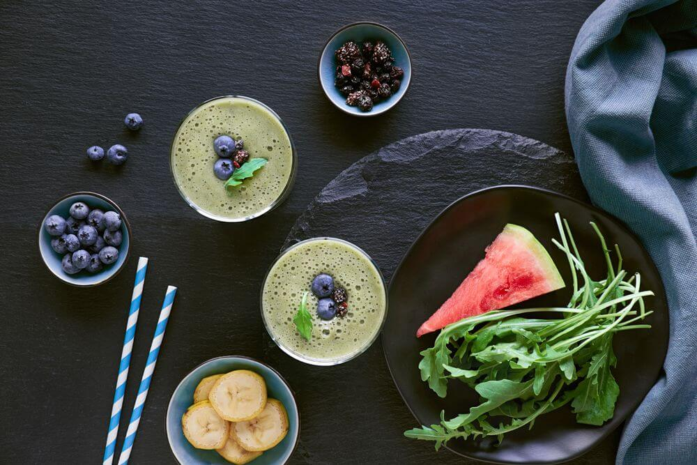 Green Rucola Banana Smoothie