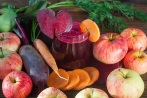 Juice Recipe with Beets and Carrots