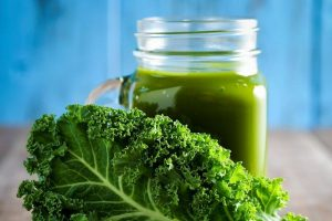 Low Blood Pressure Kale Smoothie