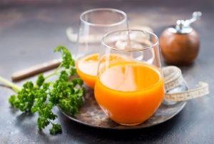 Orange Carrot Juice for Losing Weight