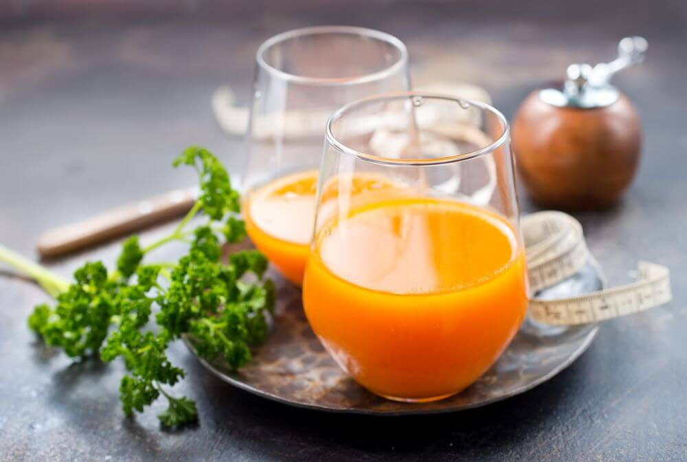 Orange Carrot Juice for Losing Weight