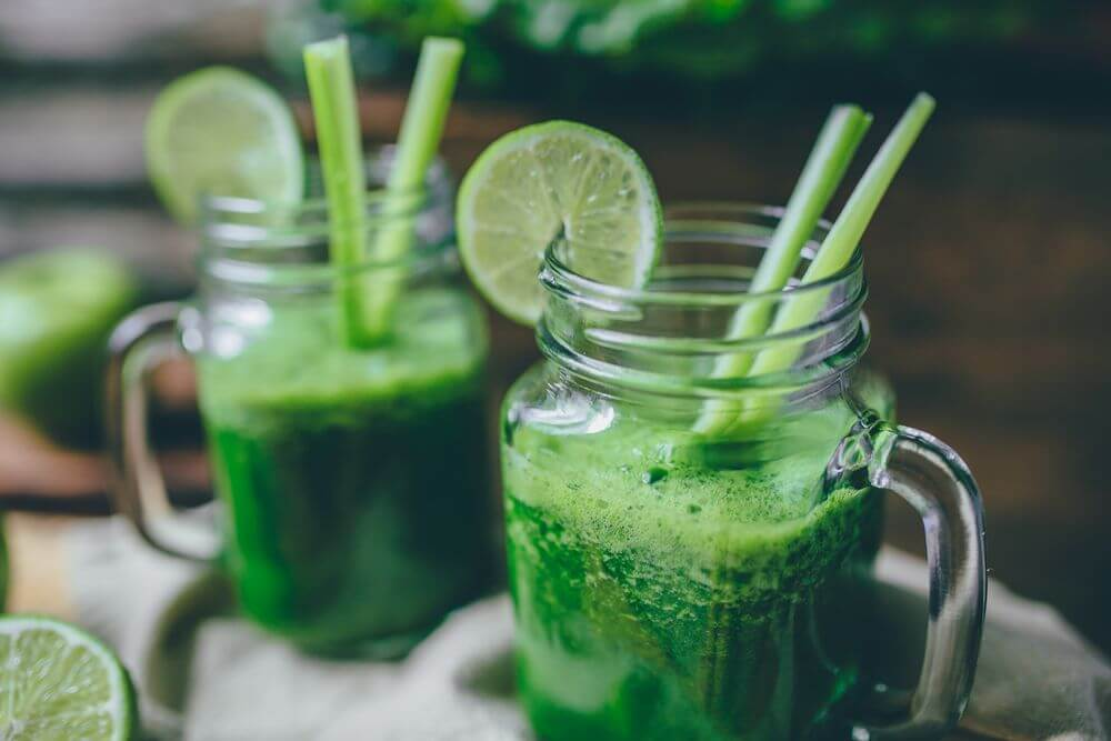 Spinach Mean Green Juice