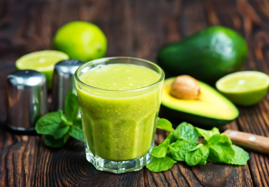 Avocado Magic Bullet Smoothie