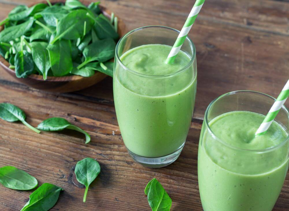 Green Smoothie for Sore Throat