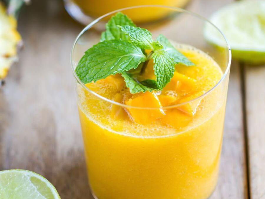 Mango Magic Bullet Smoothie