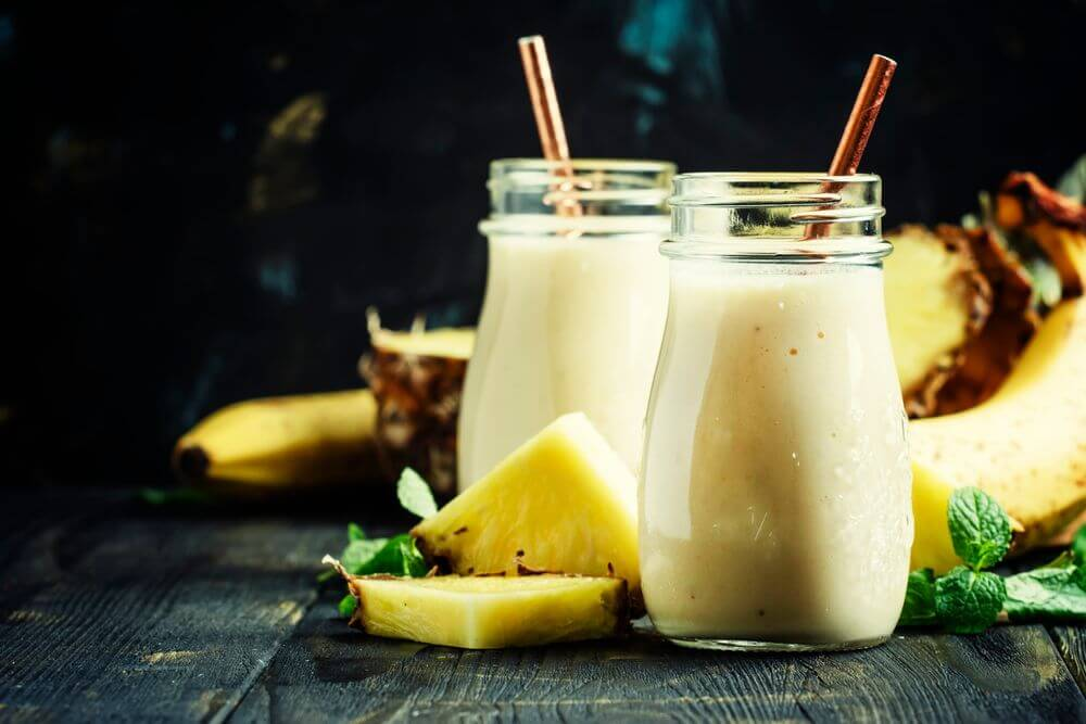 Pineapple Low Fodmap Smoothie