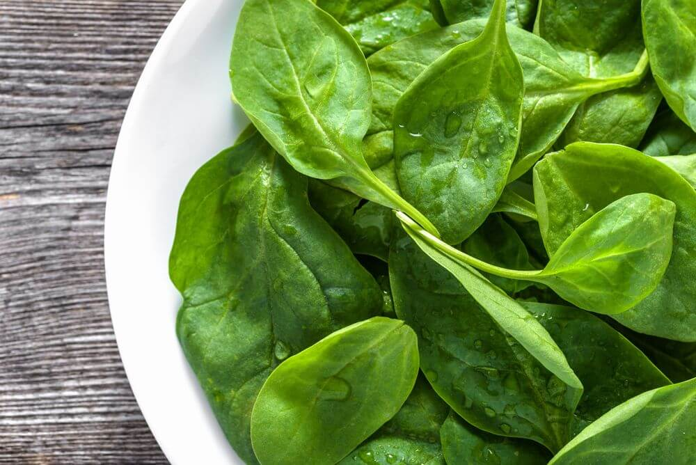Spinach for Acid Reflux