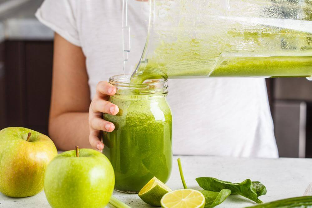 Eye Healthy Spinach Smoothie