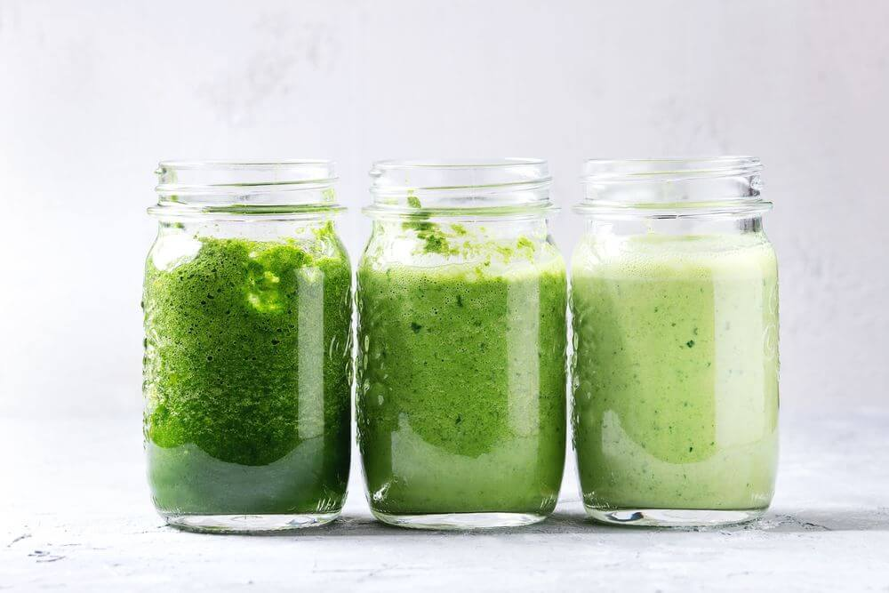 Green Smoothie for Anxiety