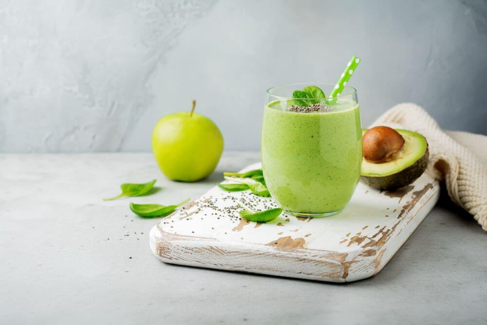 Oatmeal Avocado Green Smoothie