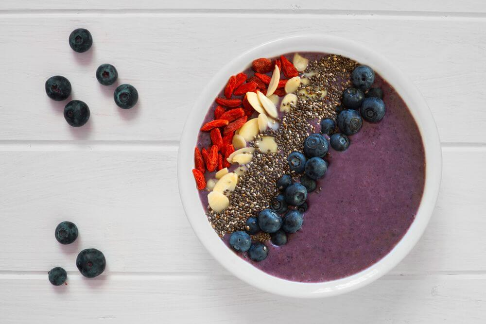 Oatmeal Smoothie Bowl