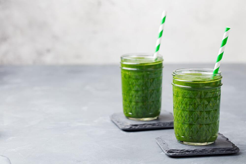 Oatmeal Smoothie With Spinach